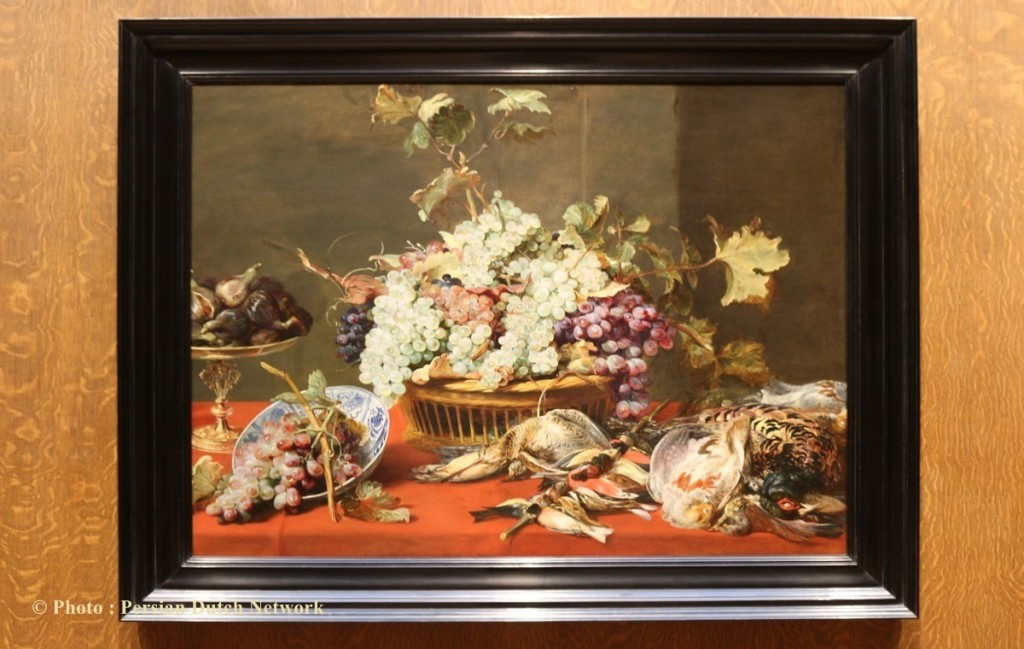 """Still life with Grapes and Game"" 